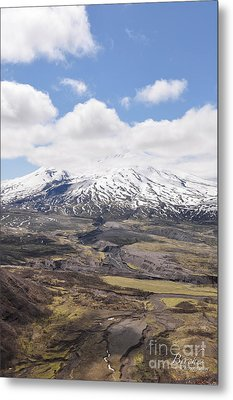 Mount St. Helens Metal Print by Birches Photography