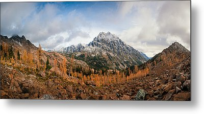 Metal Print featuring the photograph Mount Stuart Panorama by Brian Bonham