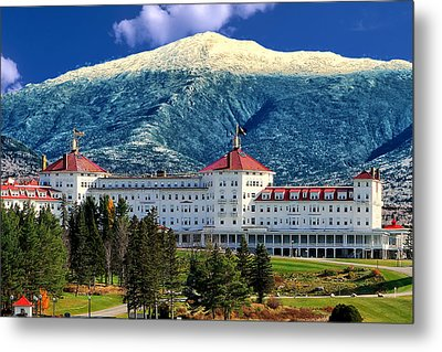 Mount Washington Hotel Metal Print by Tom Prendergast