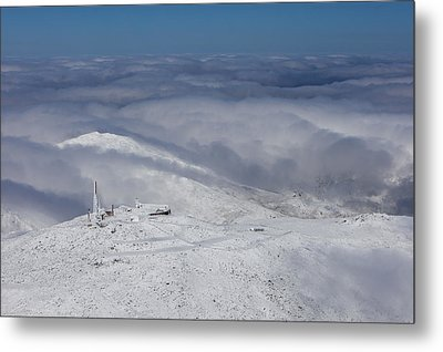 Mount Washington Observatory Metal Print by Dave Cleaveland