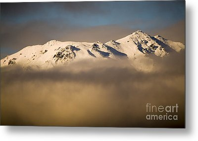 Mountain Cloud Metal Print by Tim Hester