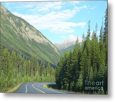 Mountain Cruise Metal Print by Christian Mattison