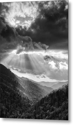 Mountain Drama Metal Print