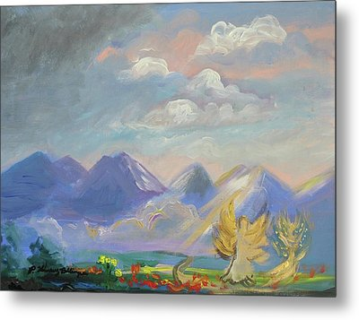Mountain Dream Metal Print by Patricia Kimsey Bollinger