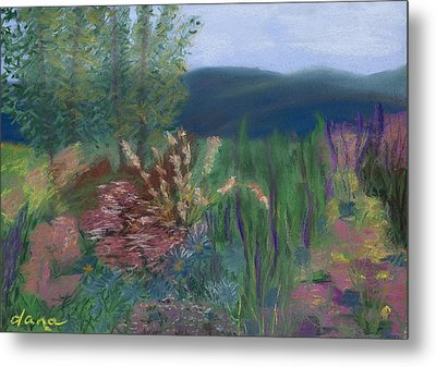 Mountain Garden Metal Print by Dana Strotheide