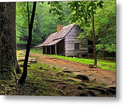 Mountain Hideaway Metal Print by Frozen in Time Fine Art Photography