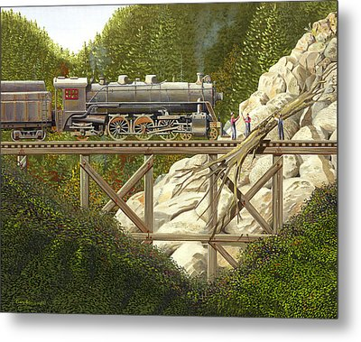 Mountain Impasse Metal Print