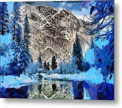 Mountain Lake Metal Print by Georgi Dimitrov