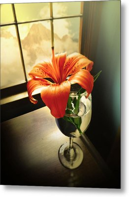 Mountain Lily Metal Print