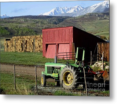 Metal Print featuring the photograph Mountain Living by Fiona Kennard