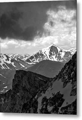 Mountain Majesty Metal Print by Julie Magers Soulen