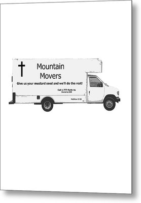 Mountain Movers Metal Print by Stephanie Grooms