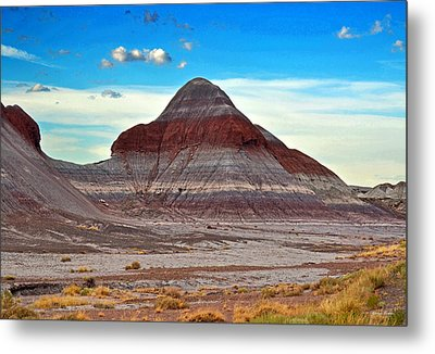Mountain Of Color - Painted Desert  002 Metal Print