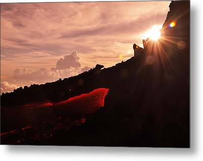 Mountain Of Doom Metal Print