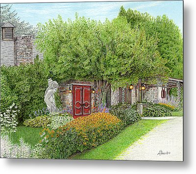 Mountain Playhouse Jennerstown Pa Metal Print by Albert Puskaric