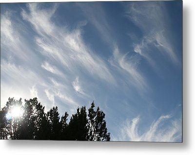 Mountain Sky Metal Print