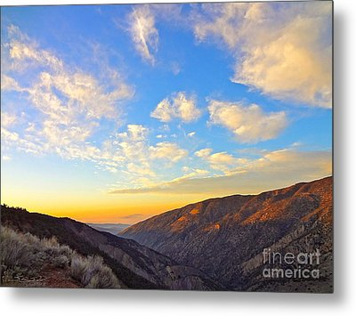 Mountain Soup Metal Print by Gem S Visionary