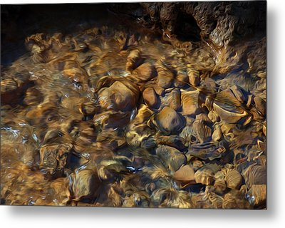 Metal Print featuring the digital art Mountain Stream by Kelvin Booker