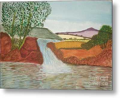 Mountain Stream Metal Print by Tracey Williams