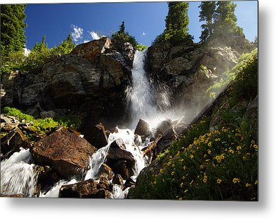 Mountain Tears Metal Print by Jeremy Rhoades