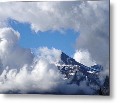 Mountain Top Experience Metal Print
