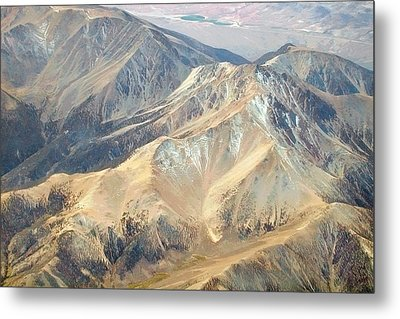 Metal Print featuring the photograph Mountain View 2 by Mark Greenberg