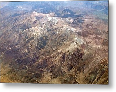 Metal Print featuring the photograph Mountain View by Mark Greenberg