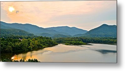 Mountain View Metal Print by Frozen in Time Fine Art Photography