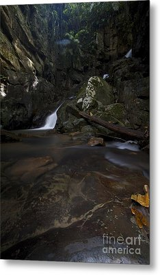 Metal Print featuring the photograph Mountain Waters. by Gary Bridger