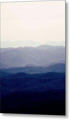 Mountains Metal Print by Kim Fearheiley