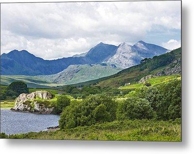 Mountains Of Snowdonia Metal Print