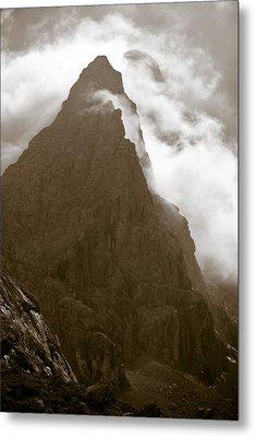 Mountainscape Metal Print by Frank Tschakert