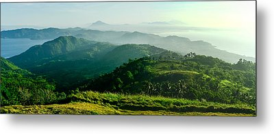 Mountaintop Panorama Metal Print