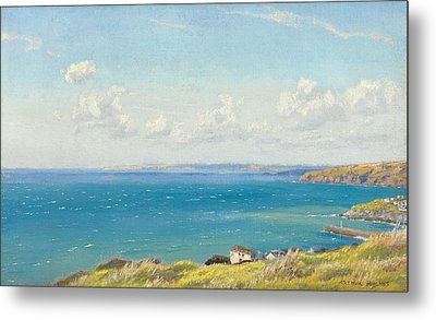 Mount's Bay C1899 Metal Print