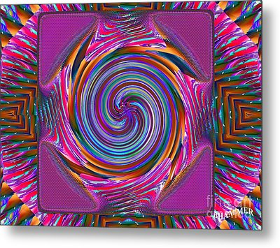 Mouse Pad Metal Print by Bobby Hammerstone