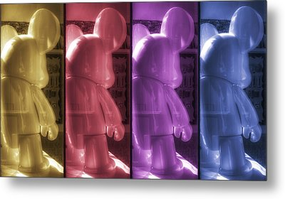 Mouse X4 Metal Print by Scott Norris