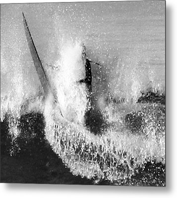 Mouth Washed Metal Print