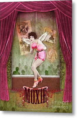 Moxie Metal Print