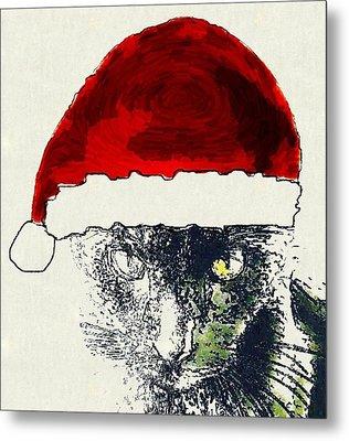 Mprints - Christmas Cheer 12 Metal Print