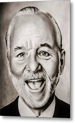 Mr Bill Murray Metal Print by Brian Broadway