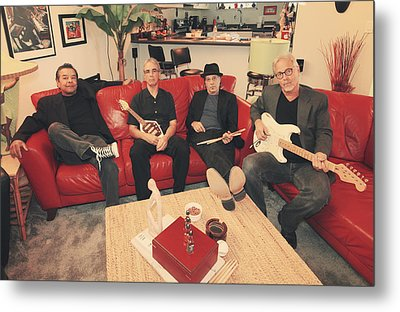 Mr. Chin's Hot Sauce  Metal Print by Laurie Search