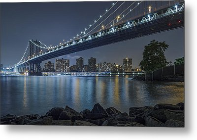 Mr Manhattan  Metal Print