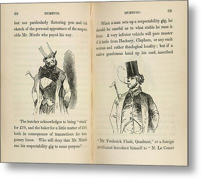 Mr Muzzle And Mr Frederick Flash Metal Print by British Library