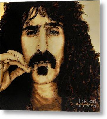 Mr Zappa Metal Print by Betta Artusi