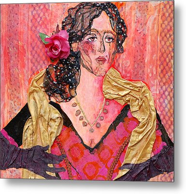 Mrs. Dedlocke Metal Print by Diane Fine