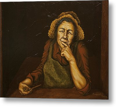 Mrs. Zackaharia Metal Print by C Michael French