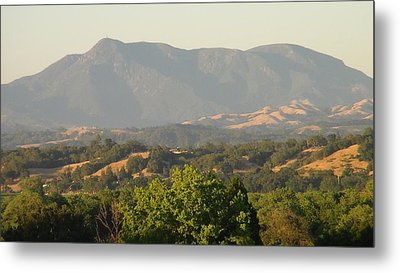 Metal Print featuring the photograph Mt. Cali by Shawn Marlow