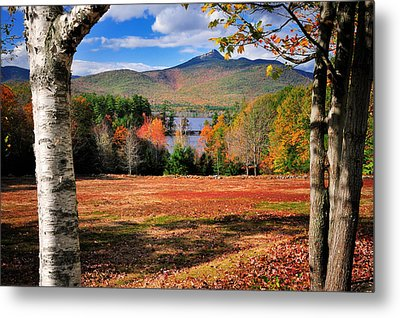 Mt Chocorua - A New Hampshire Scenic Metal Print by Thomas Schoeller