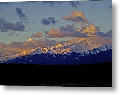 Mt Elbert Sunrise Metal Print by Jeremy Rhoades