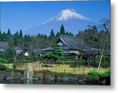 Mt. Fuji Japan Metal Print by Robert Jensen